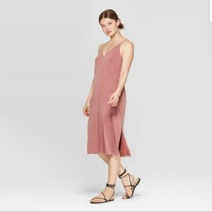 A New Day V-Neck Summer Dress NWT